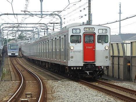 相模鉄道 各停 二俣川行き1 7000系(2015.5.31ダイヤ改正で日中廃止))