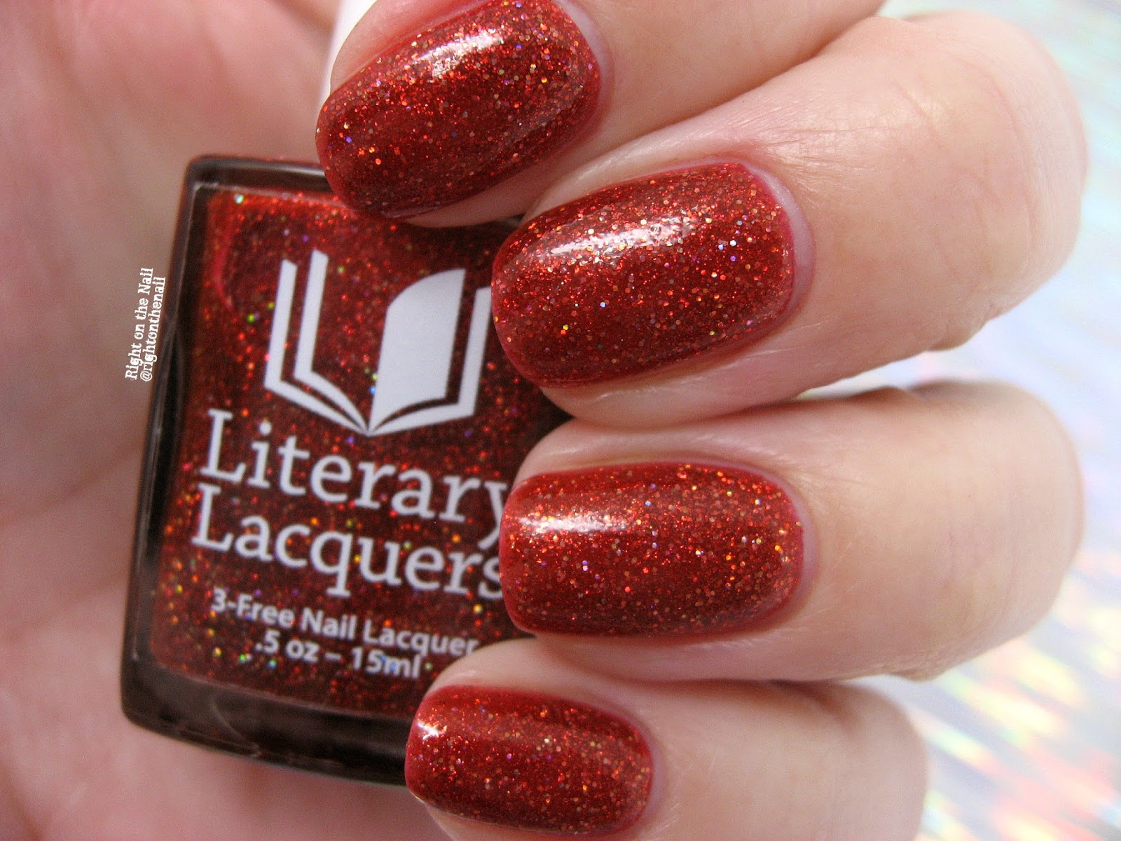 Right on the Nail: Literary Lacquers Alice in Lacquerland Collection ...