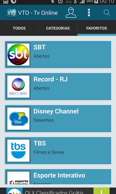 Assistir TV online no celular com o App VTO   Url Iptv