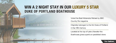 WIN a 2 NIGHT STAY at the world famous Duke of Portland Boathouse