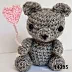 patron gratis oso amigurumi, free amigurumi pattern bear