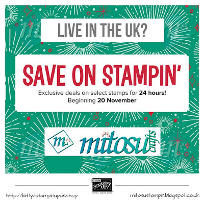 Cardmaking Papercraft Deals, Sales & Promotions by Stampin' Up! from Mitosu Crafts UK Online Shop