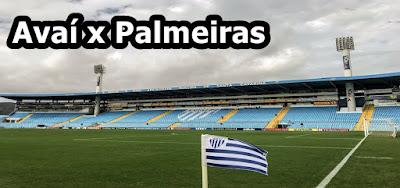 Como assistir Avaí x Palmeiras ao vivo na TV e online pela Premiere