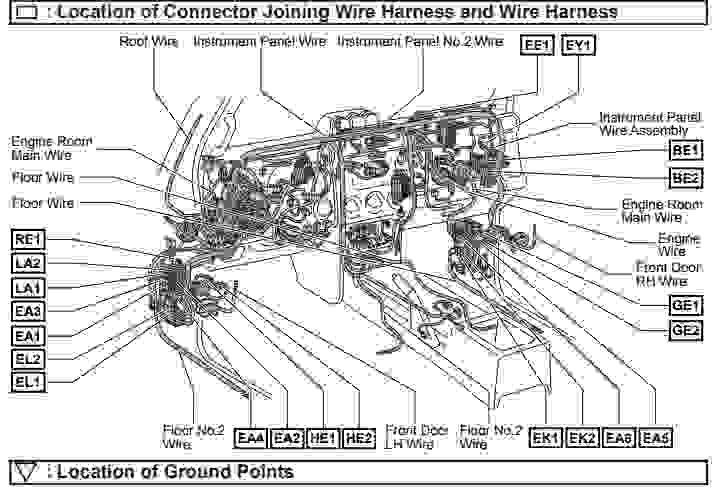 2007 toyota fj cruiser electrical wiring diagram wiring. Black Bedroom Furniture Sets. Home Design Ideas
