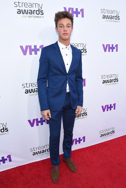 Cameron+Dallas+Streamy+Awards