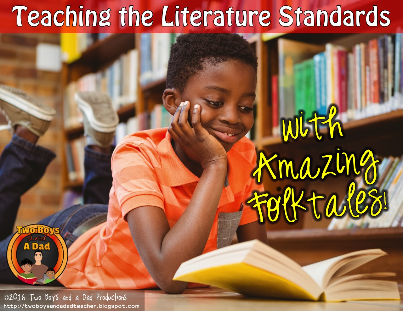 Use folktales to teach the literature standards