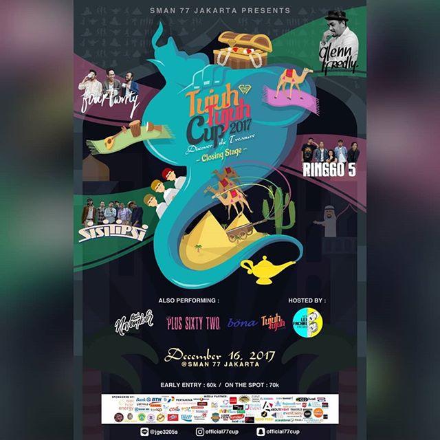 Event Tujuh Tujuh (77) Cup Competition 2017 Untuk Umum