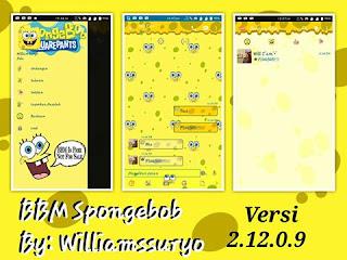 BBM MOD Spongebob Squarepants v2.12.0.9 APK