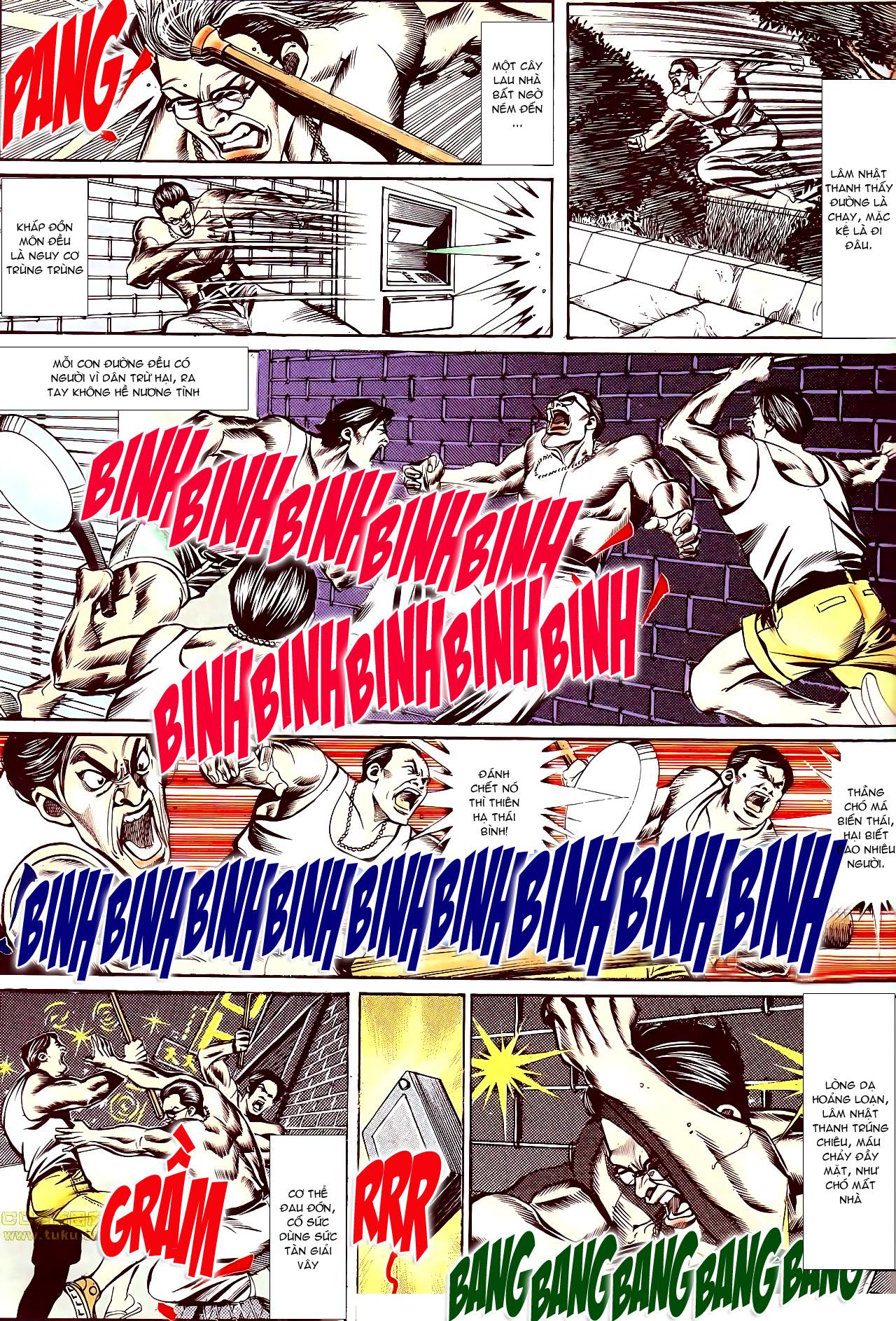 Người Trong Giang Hồ chapter 145: máu thịt tung tóe trang 5