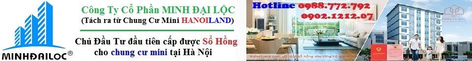 Chủ Đầu Tư Minh Đại Lộc luôn cam kết tuyệt đối về pháp lý sổ đỏ chung cư với khách hàng 100%