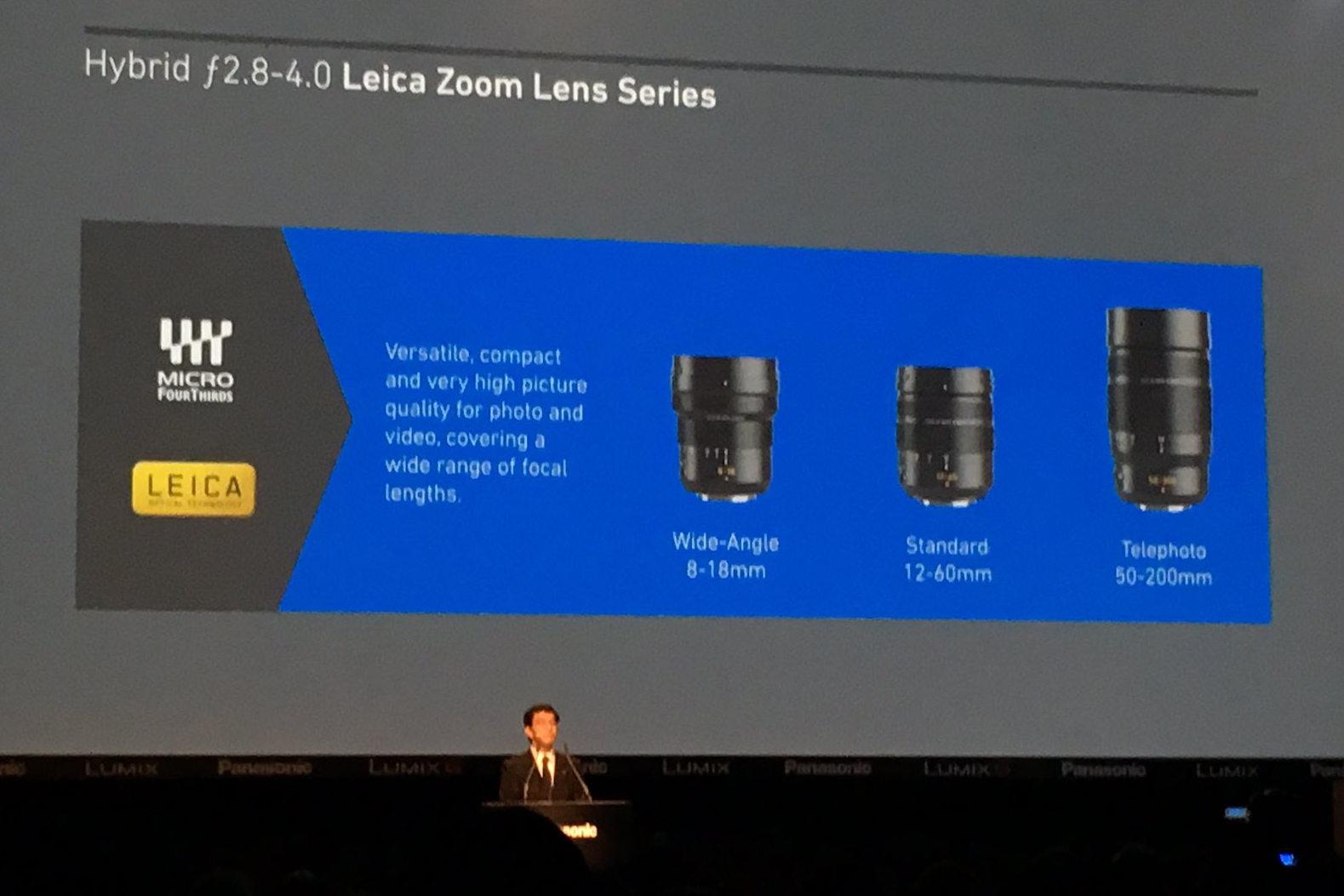 Новые объективы Panasonic Leica представлены