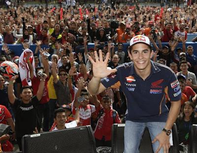 Komentar Marquez Tentang Fansnya di Indonesia