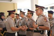 Kapolda NTB Pimpin Sertijab Kapolres Lombok Timur, Bima dan Bima Kota