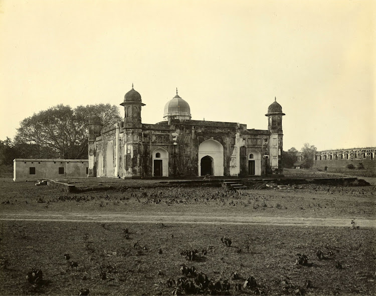 Bibi Peri's Tomb, Lal Bagh in Dhaka (Currently in Bangladesh) - 1904