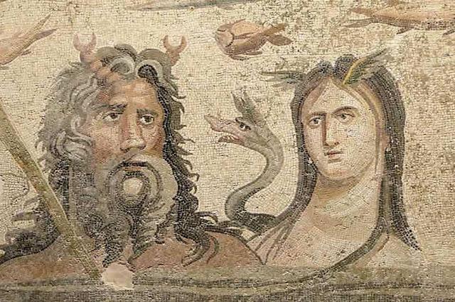 Ωκεανός και Τιτθύς, Ζεύγμα 2ος αι. μ.Χ.