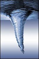 gequirltes Wasser Chakra