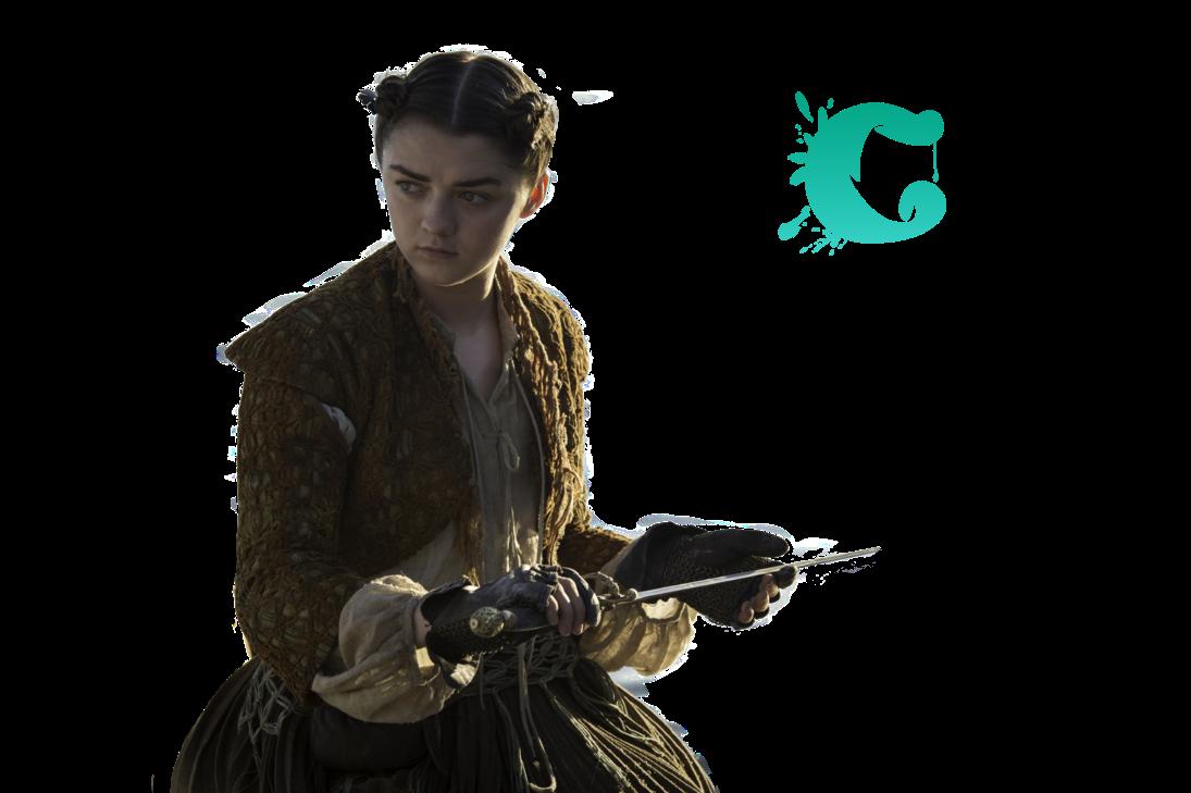 PNG Arya Stark (GoT, Game Of Thrones)