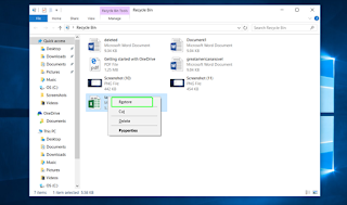 How to Restore OneDrive Files