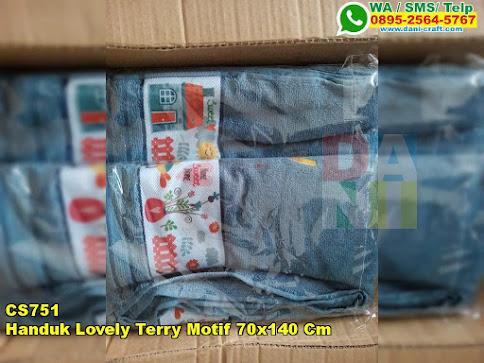 Jual Handuk Lovely Terry Motif 70x140 Cm