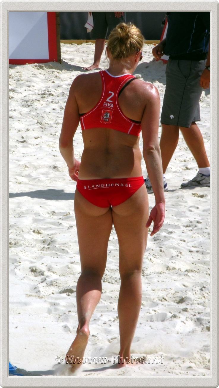 Beach Volleyball Player Marloes Wesselink