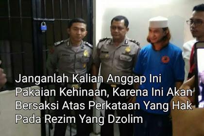 Habib Bahar Ditahan Karena Perangi Habib Palsu, Baju Tahanan Bukan Pakaian Kehinaan