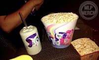My Little Pony The Movie Premiere - Bucket and Rarity Bottle