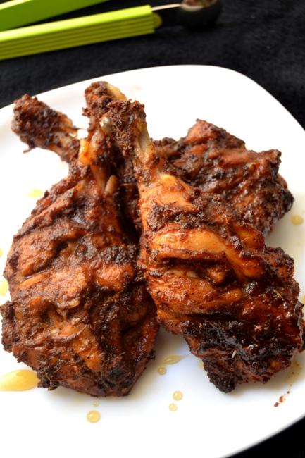 Vaniensamayalarai Grilled Chicken With Honey Oven Roasted Chicken