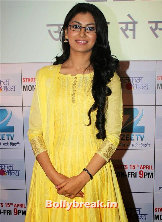 Sriti Jha, Ekta Kapoor at Kumkum Bhagya Serial Launch