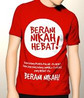 10 Contoh Desain Kaos Keren Islami Vol.1