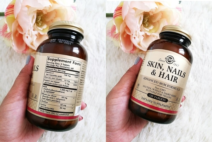 Solgar Skin, Nail and Hair Formula Review