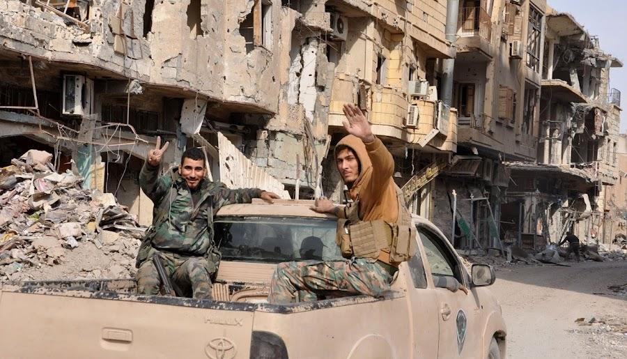 Американцы обстреляли группу повстанцев в Сирии: по их утверждению, там были наемники-россияне
