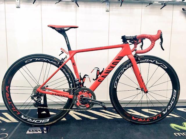 La Canyon Ultimate CF SLX del ganador de la Vuelta