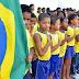 'Hino nas escolas' é um dos assuntos mais comentados do que a tragédia em Brumadinho