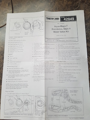 Instructions for Aqua Magic Style 2 Water Valve Kit