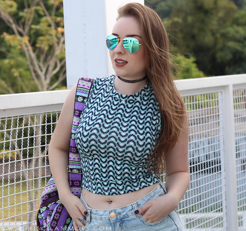 look do dia colorido