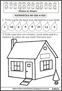 Atividade numerais e quantidades