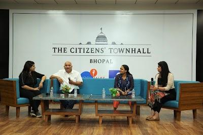 Jagran Lakecity University hosts The Citizens' Townhall organized by Josh Talks & Facebook