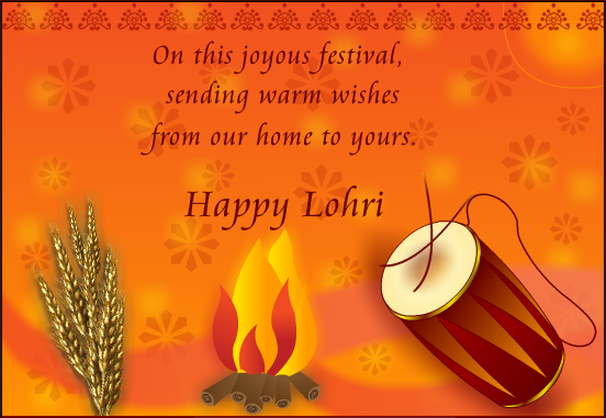 Happy Lohri Wishes for Family 2019