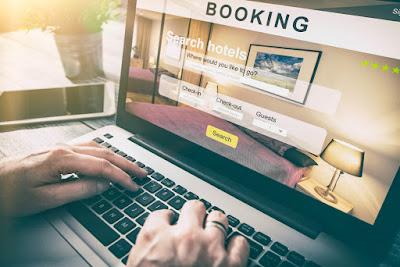 Busqueda online de hoteles para un viaje a Islandia con niños