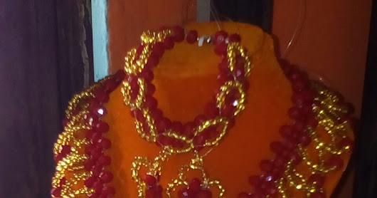 Different Design of Beaded Jewelries at Affordable Prices.