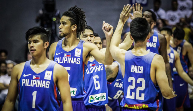 Gilas Pilipinas Final 12-man lineup vs. Australia (FIBA Basketball World Cup Asian Qualifiers) February 22 / 2nd Window
