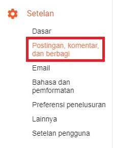tombol reply balas di blogspot