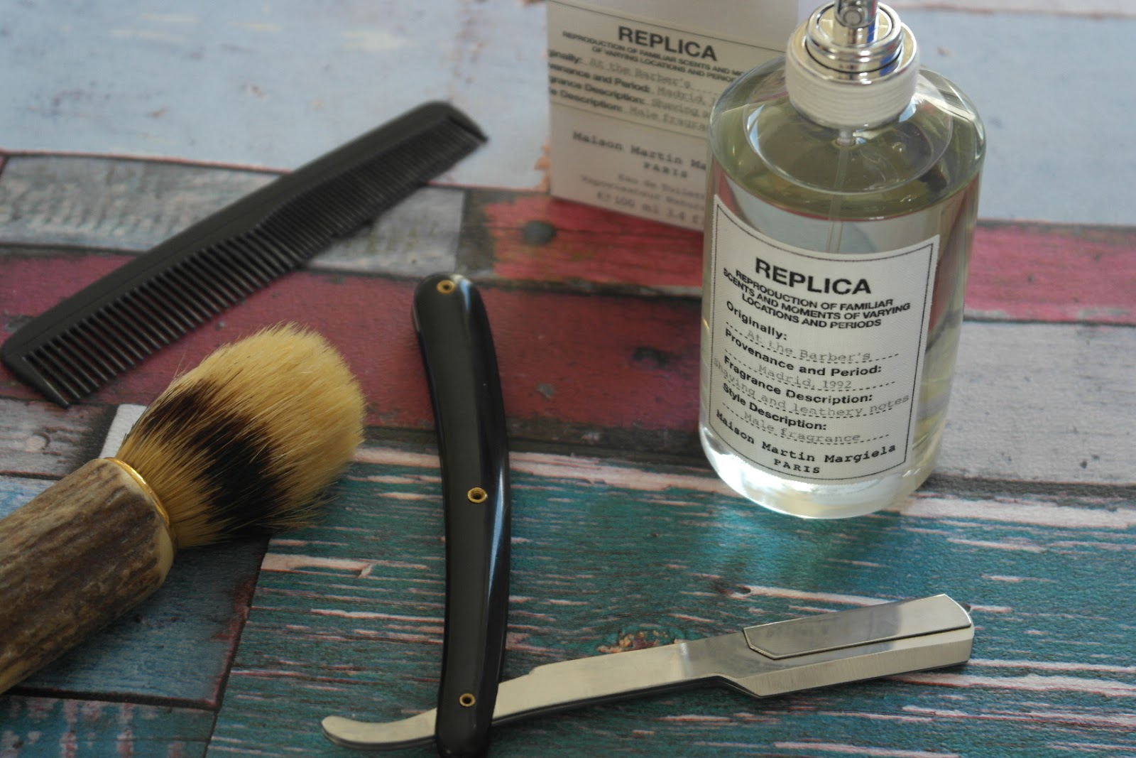 Maison Martin Margiela, Replica, At The Barbers review
