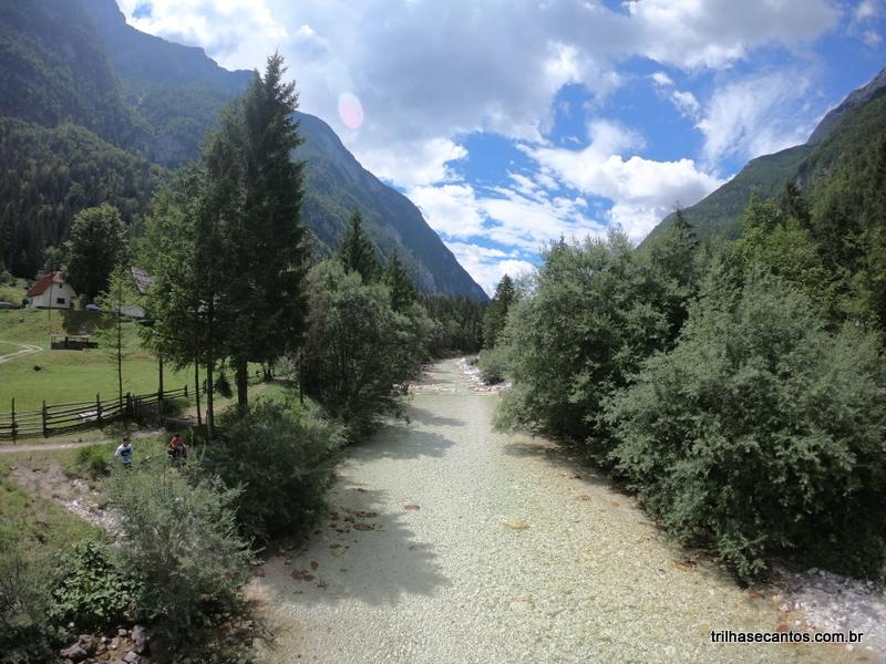 Vale do Rio Soca Eslovênia