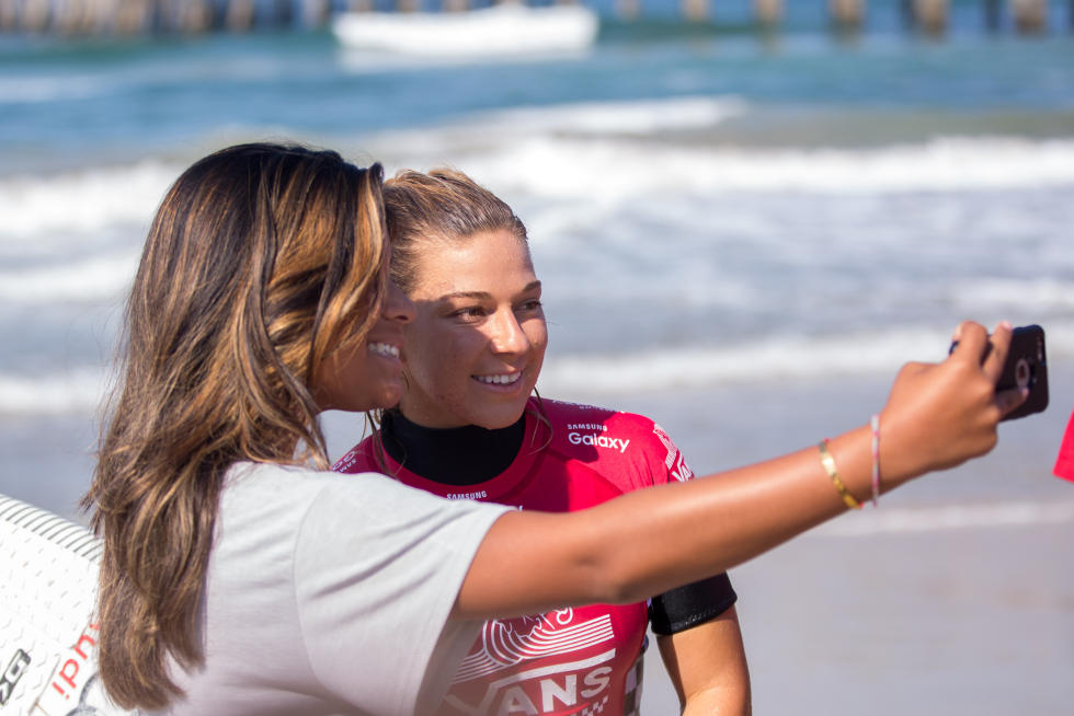 4 Coco Ho Vans US Open of Surfing foto Sean Rowland WSL