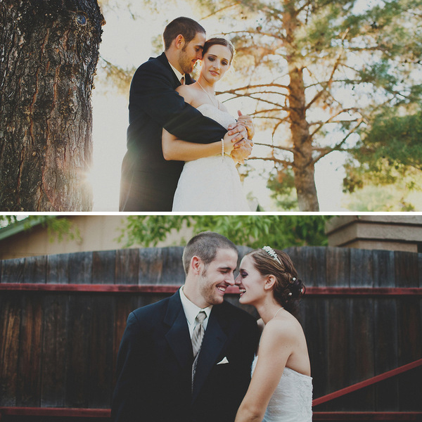 rustic backyard DIY wedding | session nine photography