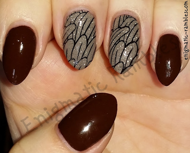 Autumn-Fall-Feather-Nails-Nail-Art-BP69