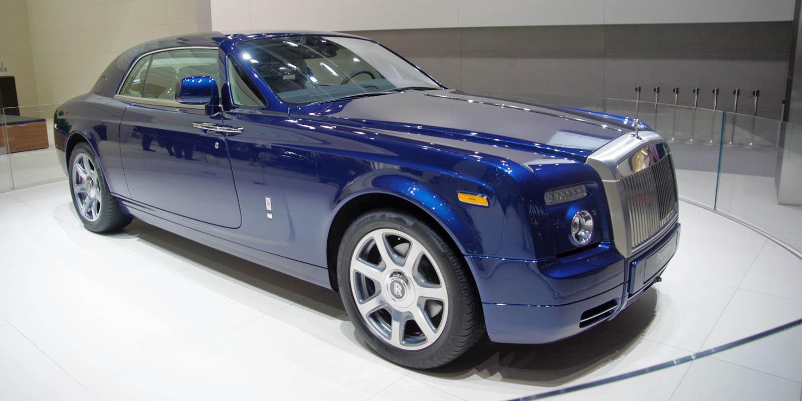 Sports Cars Rolls Royce Phantom Coupe V16 Price