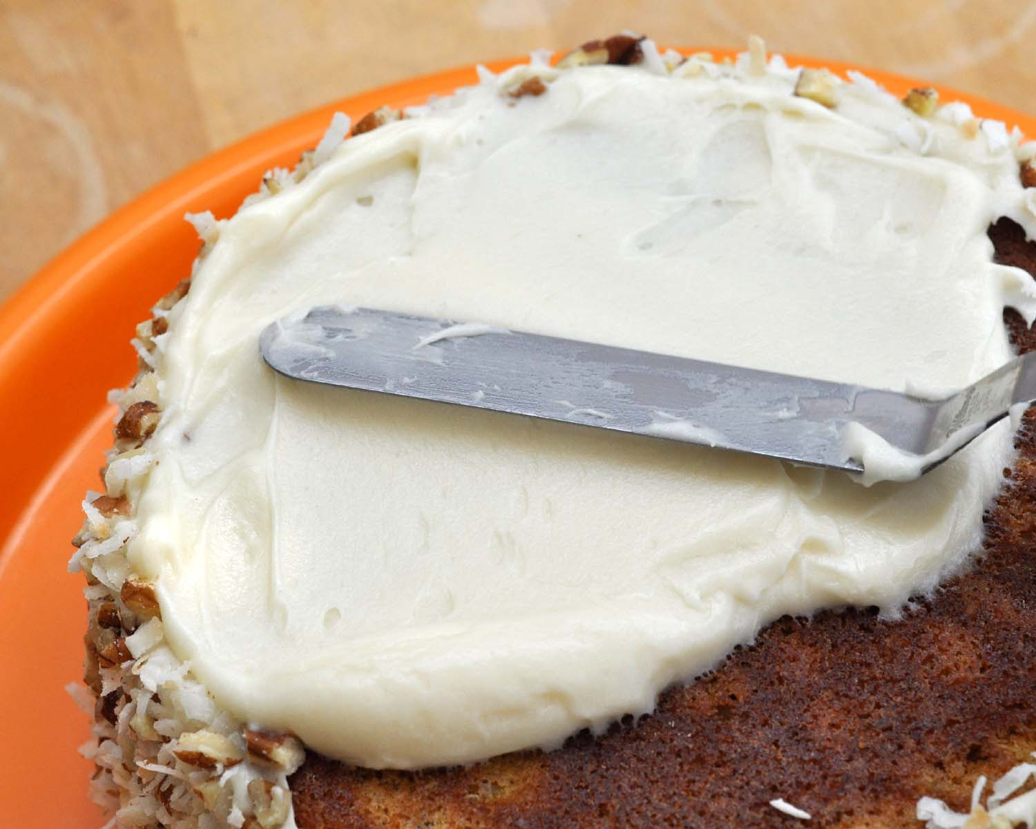 Easy Cake Icing Videos: Beki Cook's Cake Blog: Carrot Cake With Cream Cheese