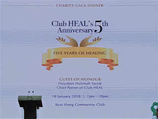 Celebrating Club HEAL's 5th anniversary.